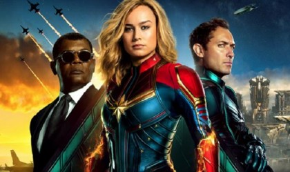 'Captain Marvel' stays atop US box office