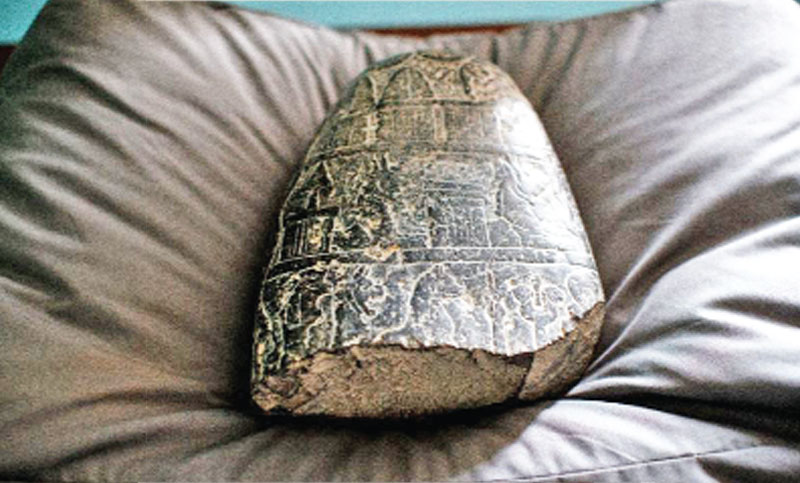 UK returns 3,000-year-old tablet looted during Iraq War