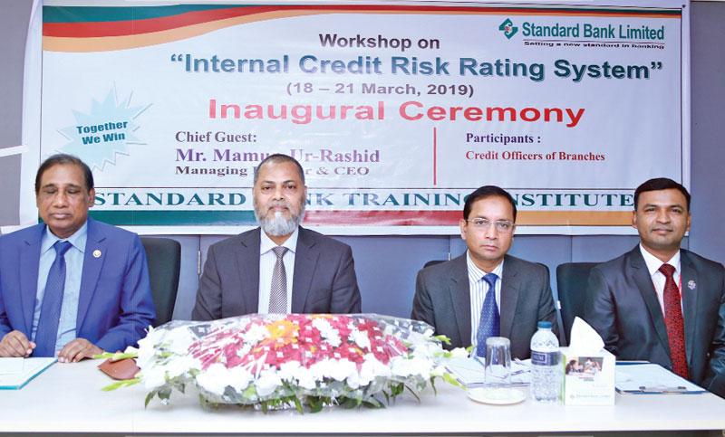 Workshop on credit risk system held