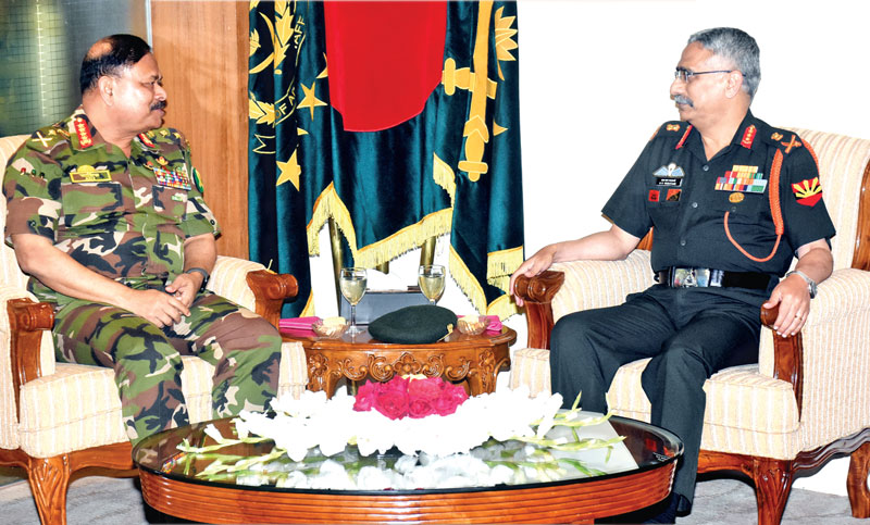 GOC-in-C of Indian Eastern Command calls on Army chief
