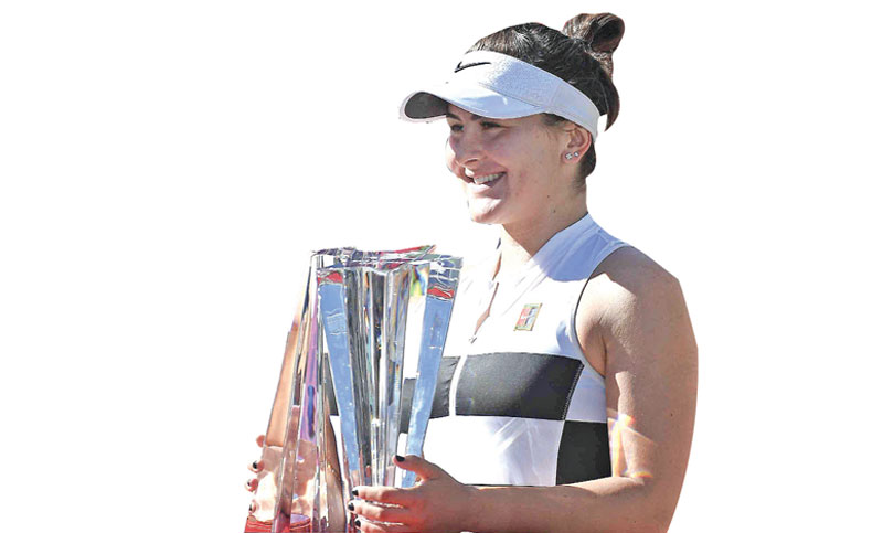 Andreescu win Indian Wells title