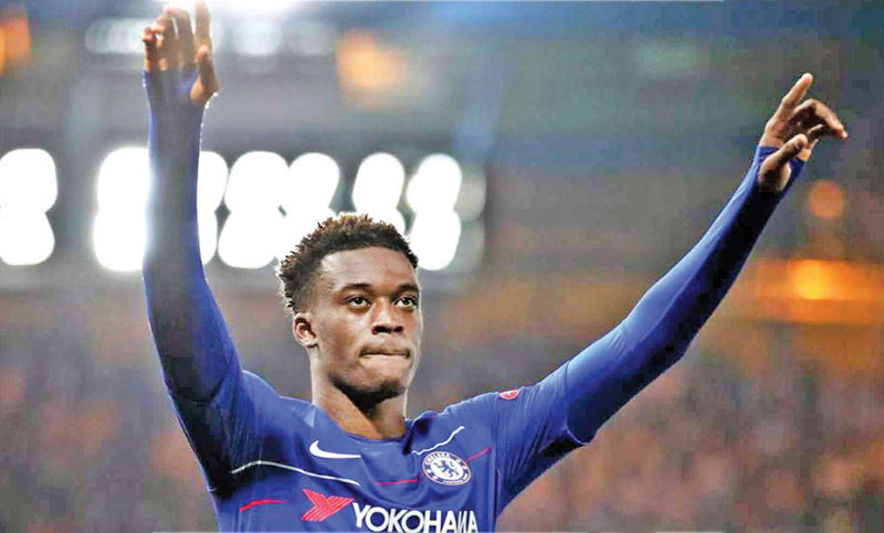 Chelsea wonder Hudson-Odoi earns England call-ups