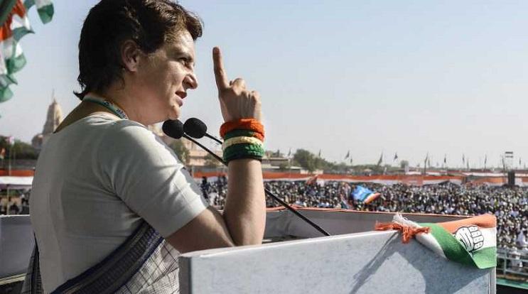 Priyanka Gandhi lambasts Modi on home turf