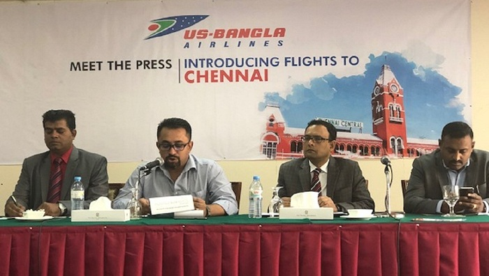 US-Bangla starts Chennai flights from March 31
