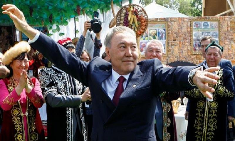 Kazakh leader Nazarbayev resigns after three decades