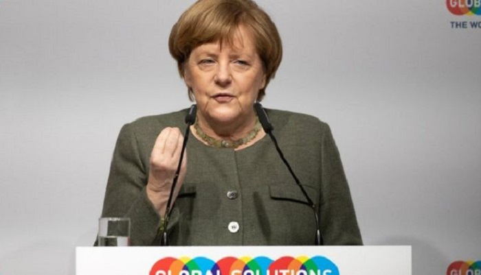 Merkel vows to fight for orderly Brexit