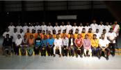 Women Handball team earn gold medal in Special Olympics