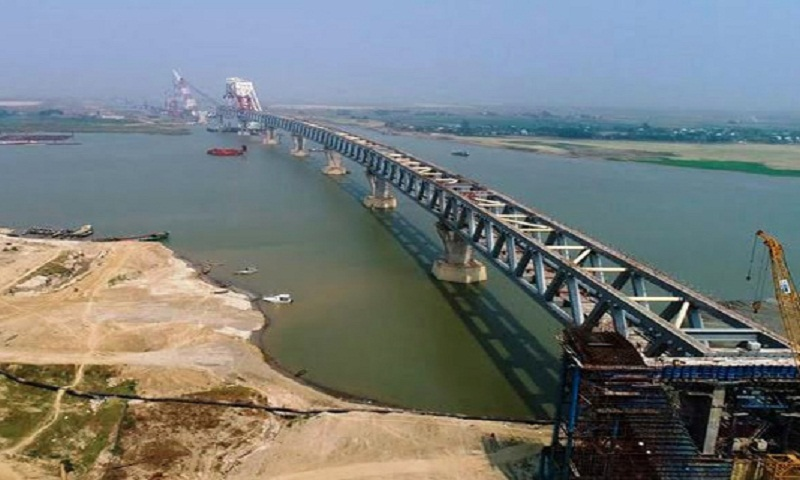 9th span of Padma Bridge to be installed today