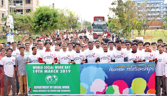 Marking the World Social Work Day