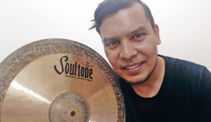 Nafeez Gets Endorsed By World Renowned Soultone Cymbals