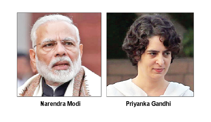 Priyanka lambastes Modi on home turf