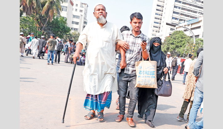 Public sufferings mount for transport crisis