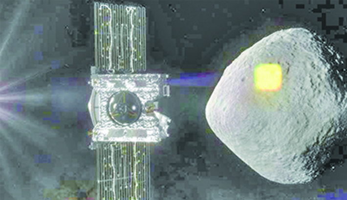 NASA taking sample from  asteroid harder than expected