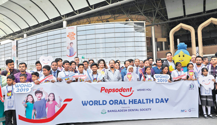 10 million kids  to be educated  in oral health