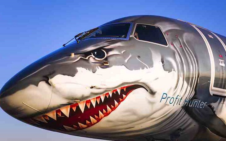Shark-faced jet lands at Dhaka airport for the first time
