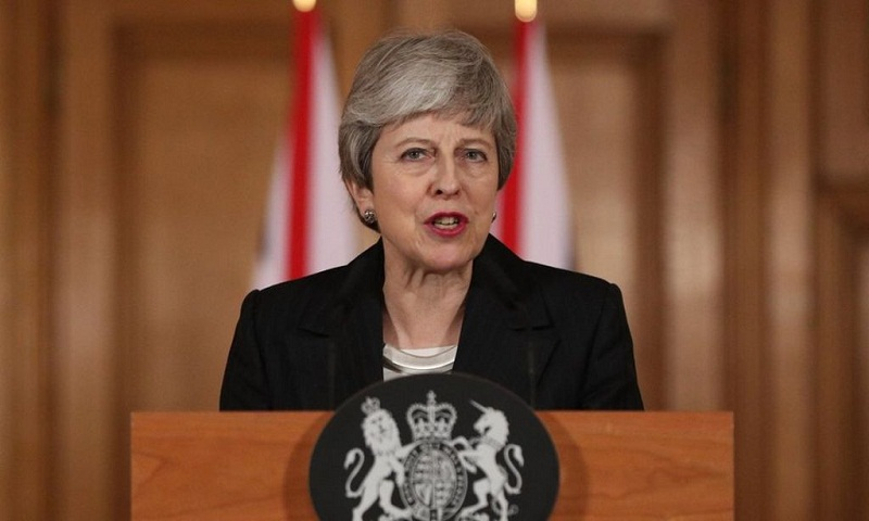 Brexit: 'Tired' public needs a decision, says Theresa May