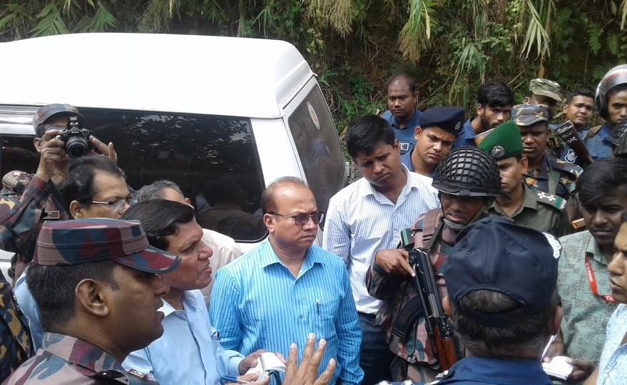 Probe committee visits Bagaichhari killing spot