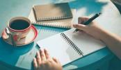 Write, write,  whatever,  you must write!