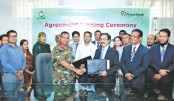 Trust Bank, Dhaka  Residential Model  College sign MoU
