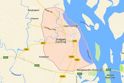College student killed in Sirajganj road crash