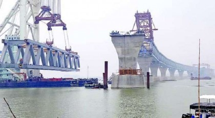 9th Padma Bridge span installation delayed