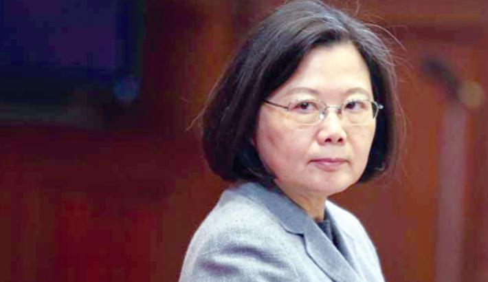 China urges US to block Tsai's Hawaii transit
