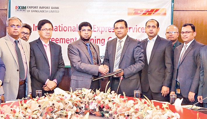 EXIM Bank, DHL ink deal