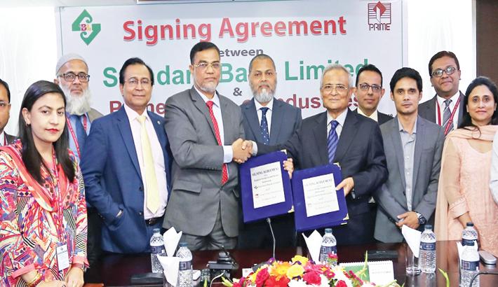 Standard Bank,  Prime Group  sign deal