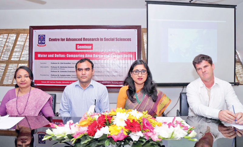 Seminar on water held at DU
