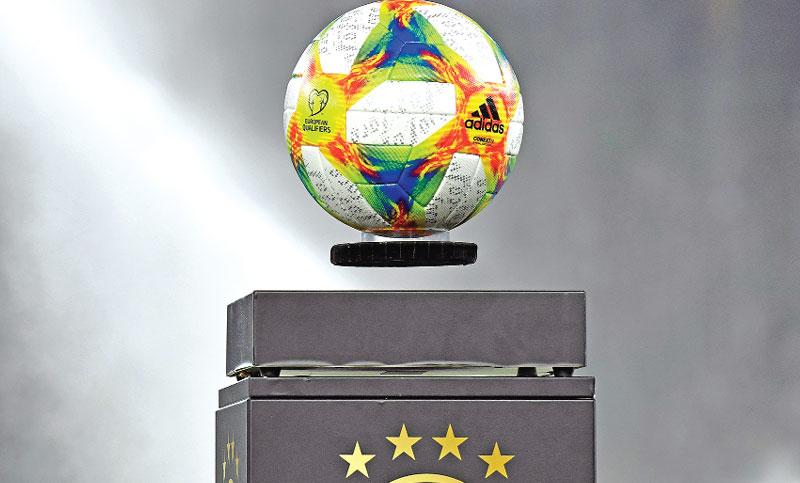 European Qualifiers Official Game Ball