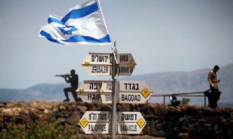 Trump: Time to recognise Golan Heights as Israeli territory