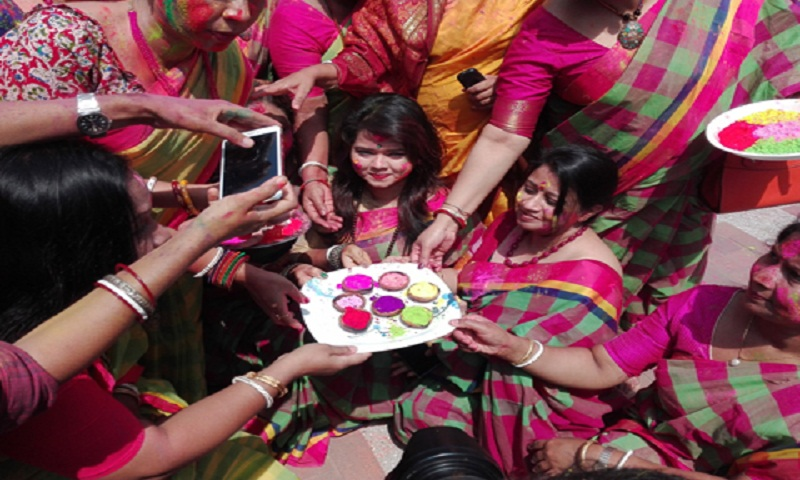 Holi festival celebrated with enthusiasm, fanfare