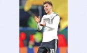 Goretzka salvages draw for Germany