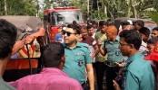 6 killed as bus hits human hauler in Barishal