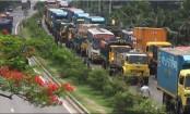 10-km tailback on Dhaka-Chattogram highway