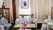 Prime Minister Sheikh Hasina consoles Abrar's parents
