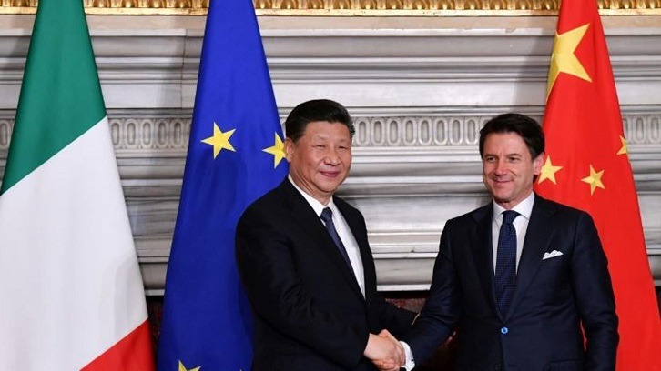 Italy, China sign new 'Silk Road' protocol