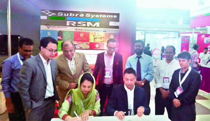 RSM Bangladesh, Subra Systems ink deal
