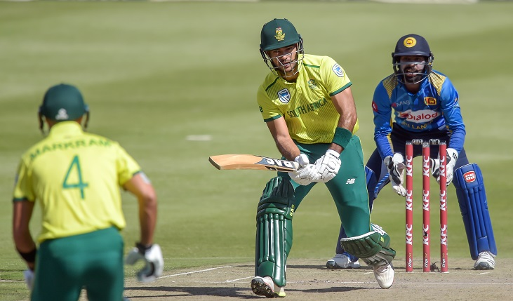South Africa score 198-2 against Sri Lanka in final T20