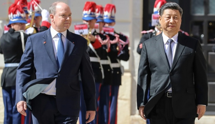 Xi arrives on French Riviera as Macron seeks united EU front on China