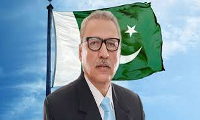 Pakistan president Arif Alvi calls for peace with India