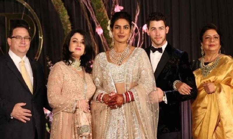 Priyanka Chopra reveals Nick Jonas cried when he saw her in the wedding dress