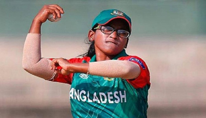 Rumana receives T20 team of the year cap from ICC