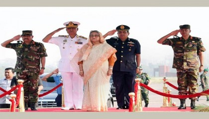 Prime Minister opens combined military hardware display 2019