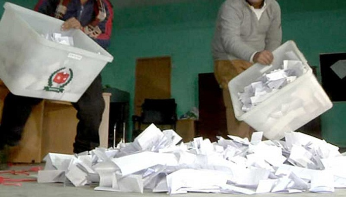 Voting ends, counting underway