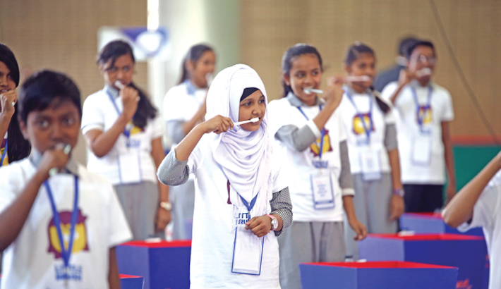 Pepsodent Celebrates 'World Oral Health Day'