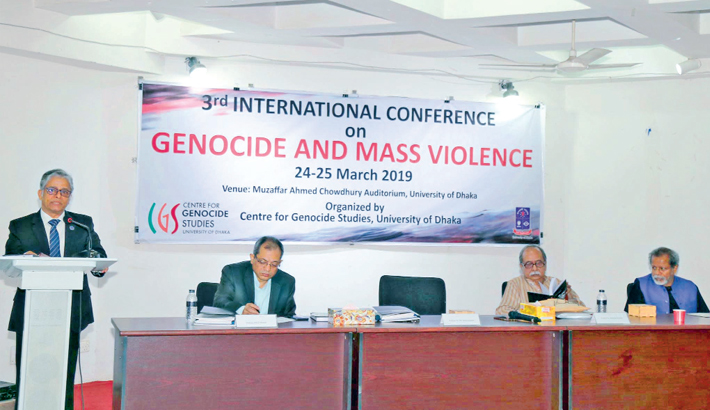 Conference on genocide ends today