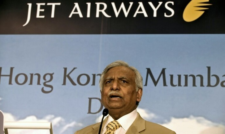 Founder of India's beleaguered Jet Airways quits