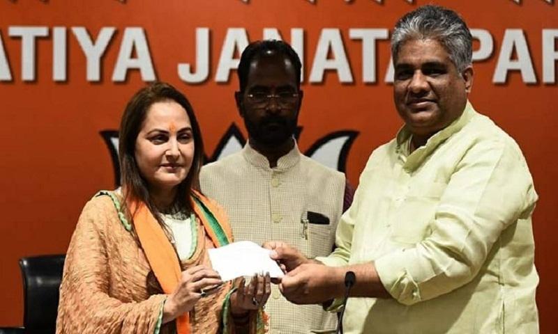 Lok Sabha Elections 2019: Jaya Prada, actor-turned-politician, joins BJP