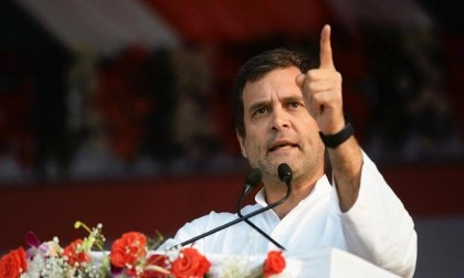 Surgical strike on poverty, says Rahul Gandhi on minimum income poll promise